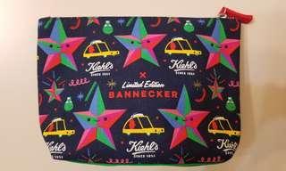 🈹包郵 kiehls x Bannecker 限量版化粧袋