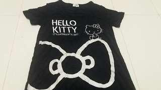 Hello kitty full embroidery stretch dress