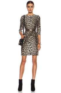 Silk leopard Rag & Bone dress size 0