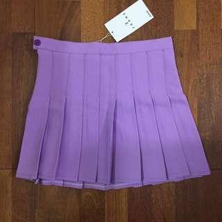 Purple Tennis Skirt