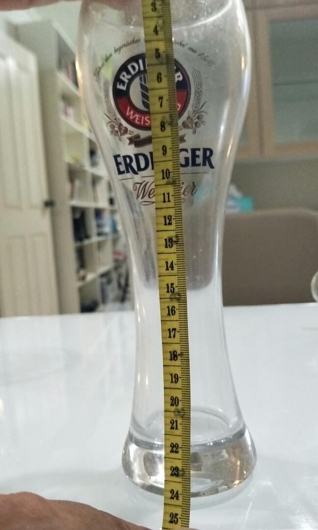 50cl (500ml) erdinger beer glass