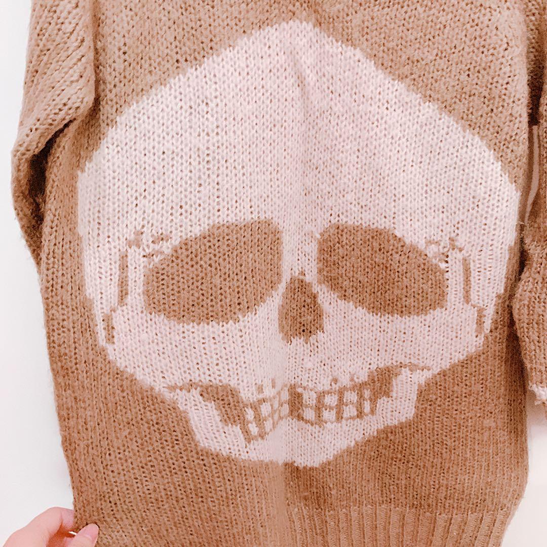 骷髏頭 毛衣