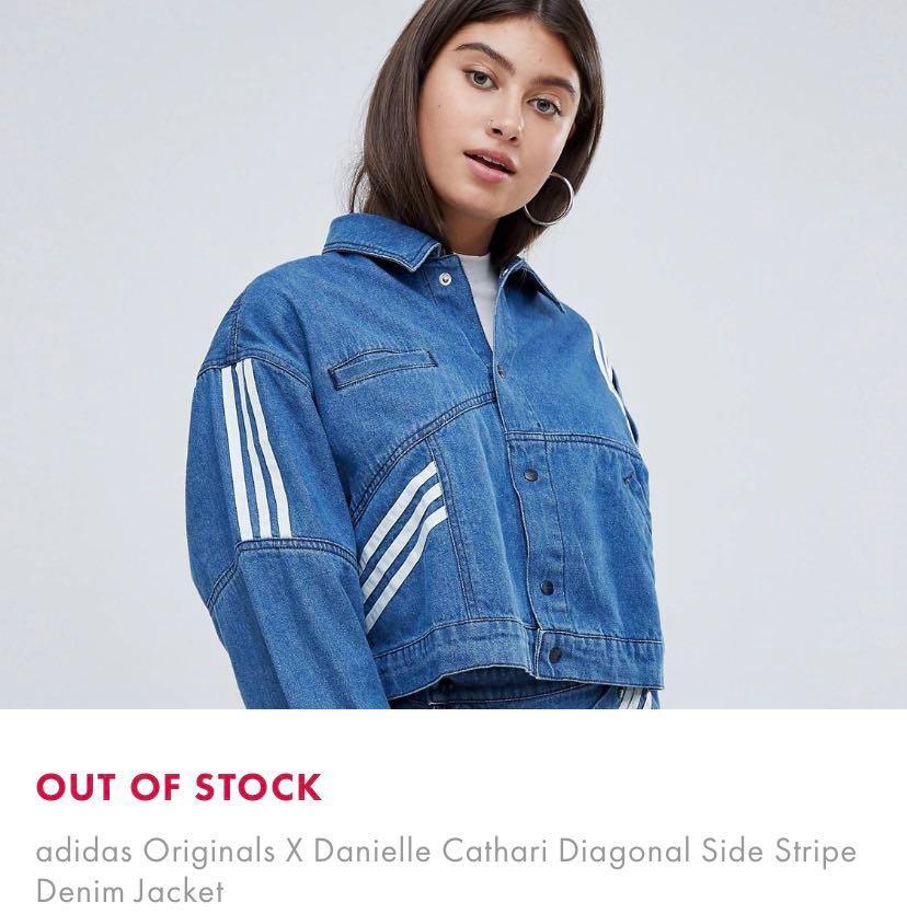 c318c79a6b10 Adidas Danielle Cathari Denim Jacket