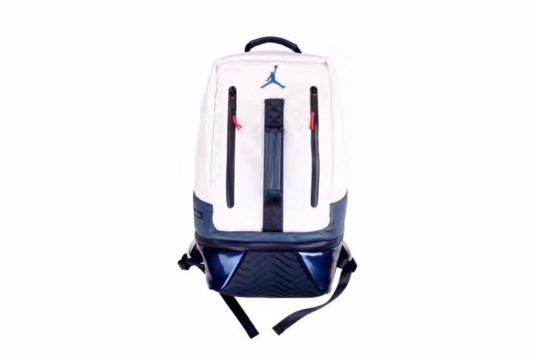 Air Jordan Retro 11 Backpack White Blue