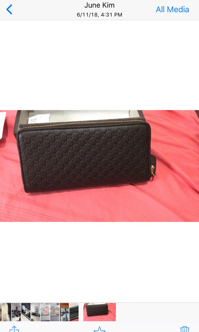 7465849dcb9 Authentic Gucci ladies wallet for sale