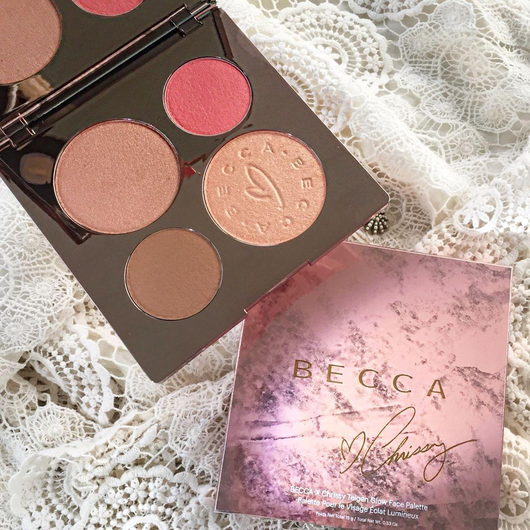 BECCA x Chrissy Teigen Glow Face Palette Limited Edition Brand New & Authentic (NO SWAPS, PRICE IS FIRM)