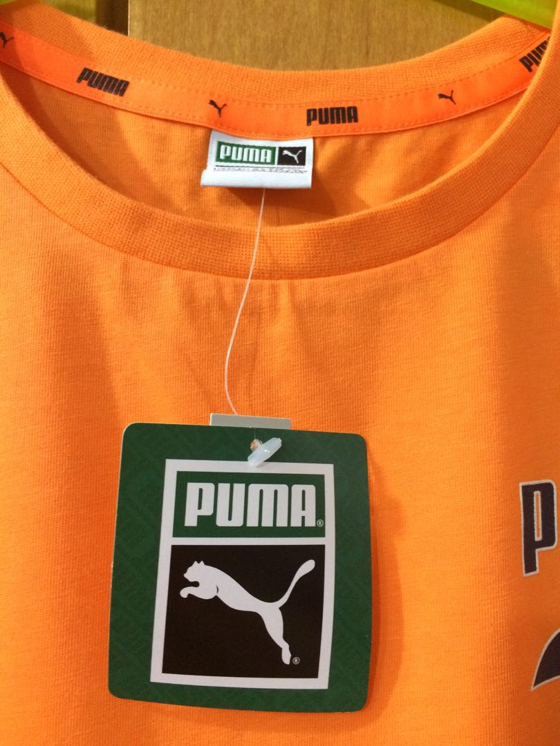 52d1daf4c3e BNWT Puma Round Neck Tee, Babies & Kids, Boys' Apparel, 8 to 12 Years on  Carousell