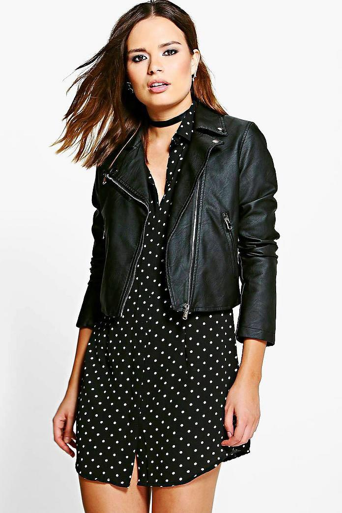 Boohoo Faux Leather Jacket