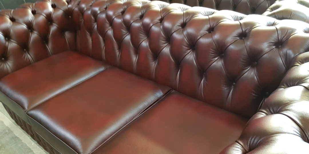 Chesterfield Sofa From England Furniture Sofas On Carousell