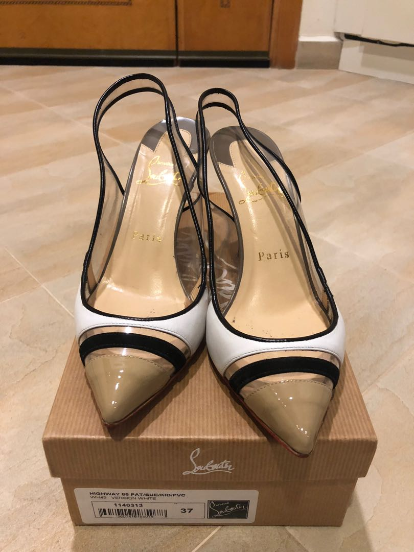 135386a04082 Christian Louboutin authentic heels size 37.5