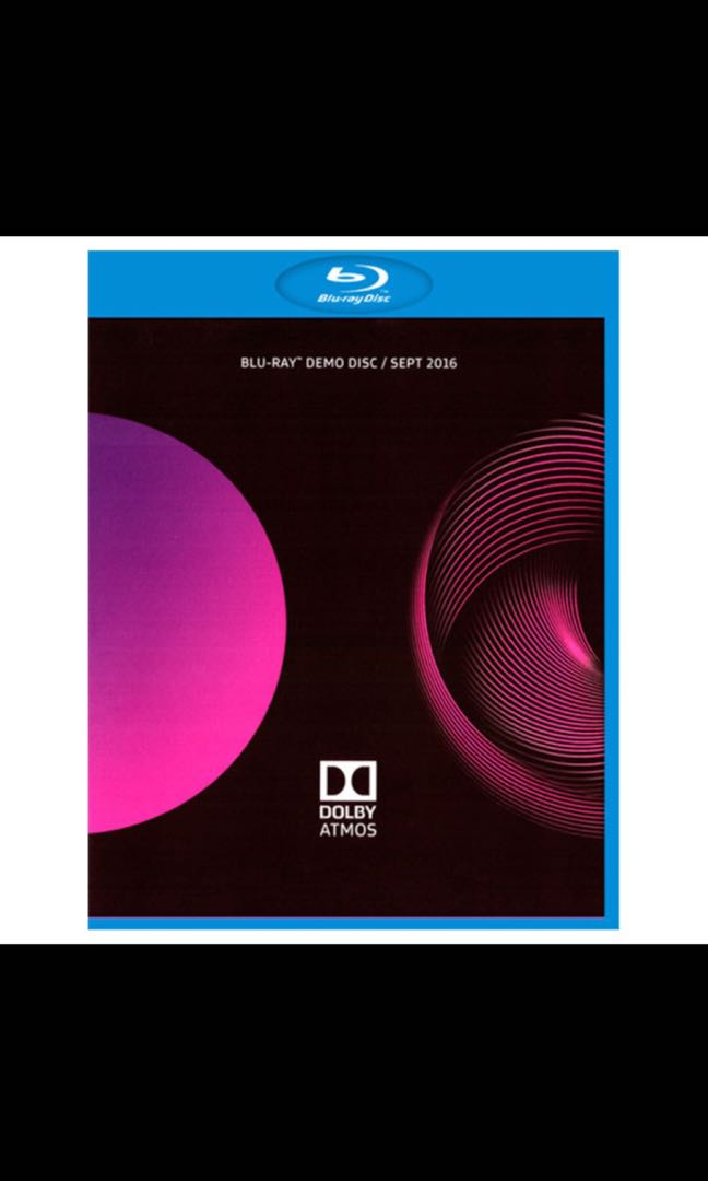Dolby Atmos Demo Disc, Music & Media, CDs, DVDs & Other