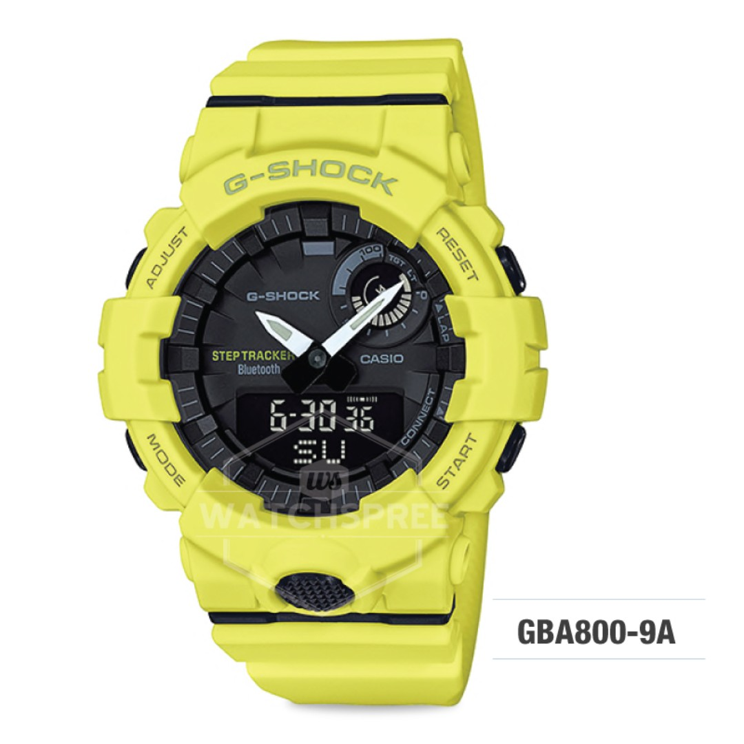 59f23385f64f FREE DELIVERY  CASIO GENUINE   GBA800-9A  100% Authentic with 1 Year ...