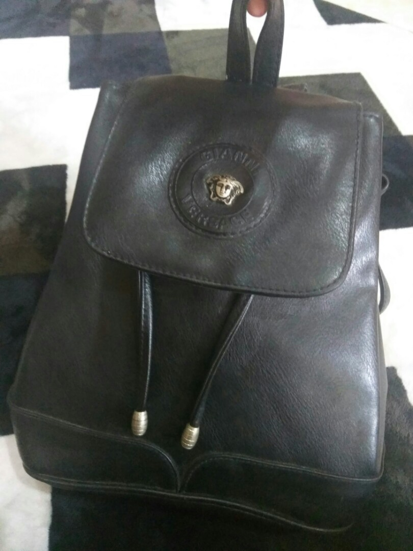 10bb6861f5 Gianni Versace Backpack #NEW99, Women's Fashion, Bags & Wallets on ...