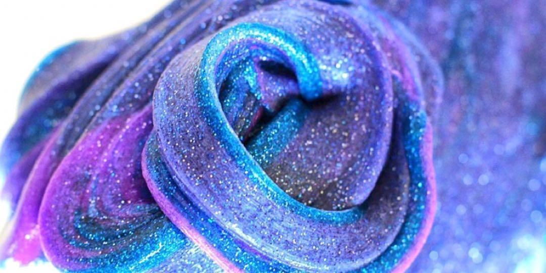 Glitter slime, Design & Craft, Handmade Craft on Carousell