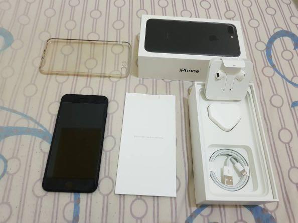 iPhone 7 plus128 GB Matte black