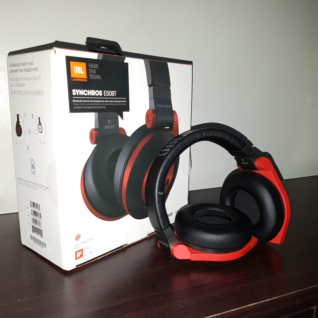 Jbl Synchros E50bt Electronics Audio On Carousell