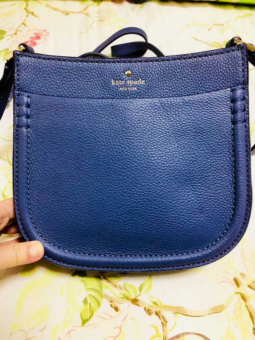 042341668 kate spade new york 'orchard street - small hemsley' leather crossbody bag  in OYSTER BLUE 95215715, Women's Fashion, Bags & Wallets, Sling Bags on  Carousell