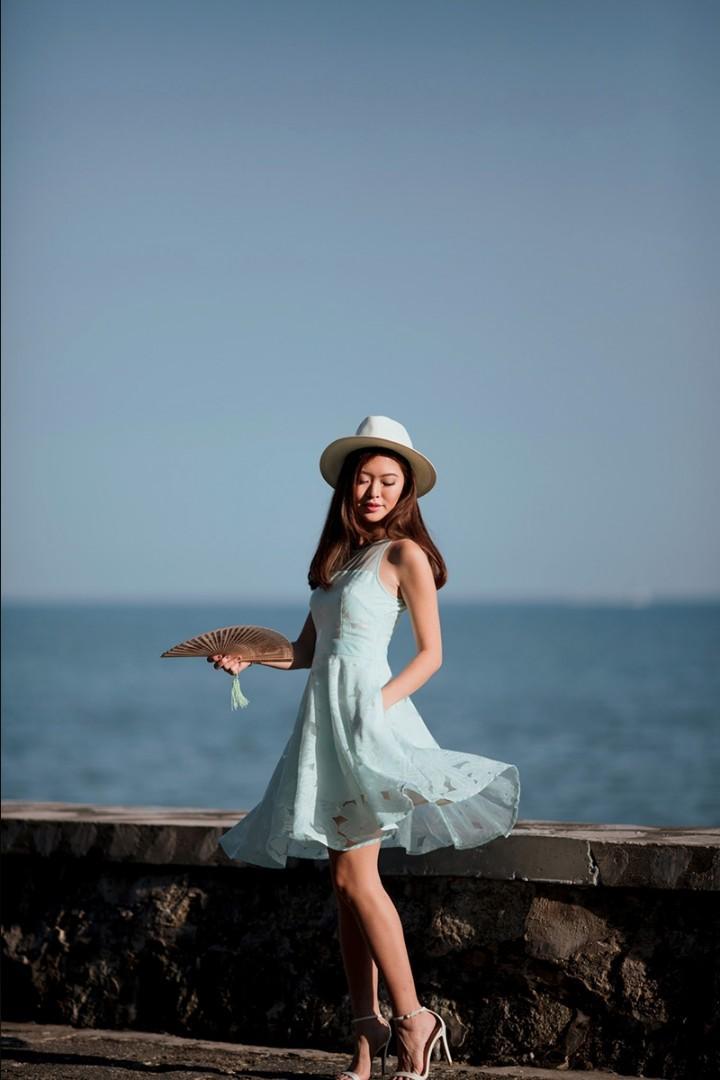 Lollyrouge Eastern Shore Dress (Jade Mint)