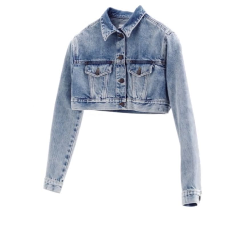 625c18fffd1 Looking for H M moschino cropped sparkly denim jacket