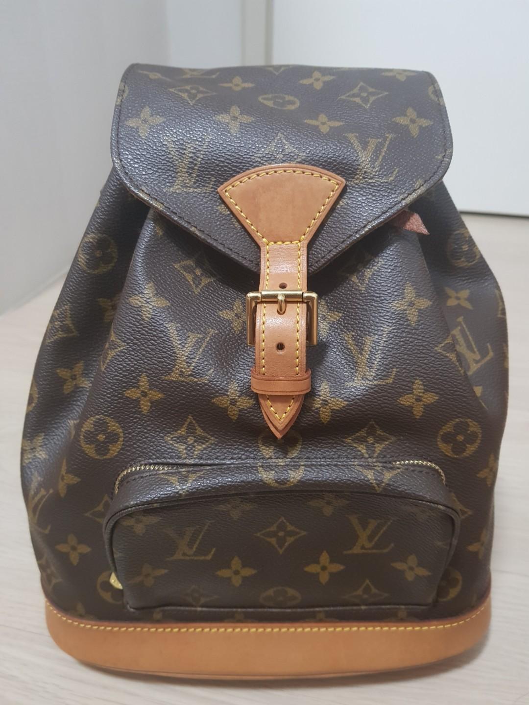 3717877723dd Louis Vuitton Montsouris Mini (100% Authentic)