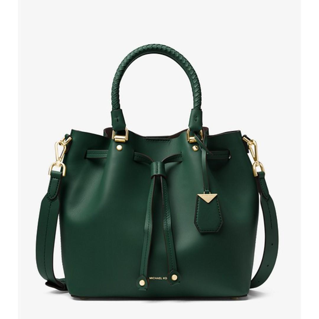 22f2eb7d2c8b Michael Kors Blakely Leather Bucket Bag