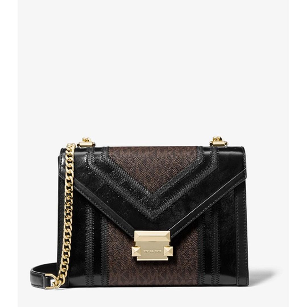 f214bd26cbc0 Michael Kors Whitney Large Logo Convertible Shoulder Bag, Women's ...