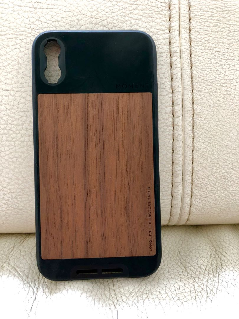 sports shoes 04b2d db2fa Moment iPhone X case (black walnut)