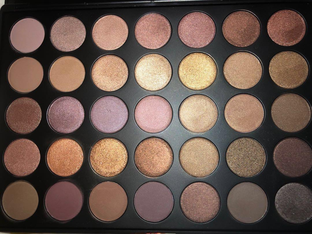 Morphe 35T - 35 Colour Taupe Eyeshadow Palette