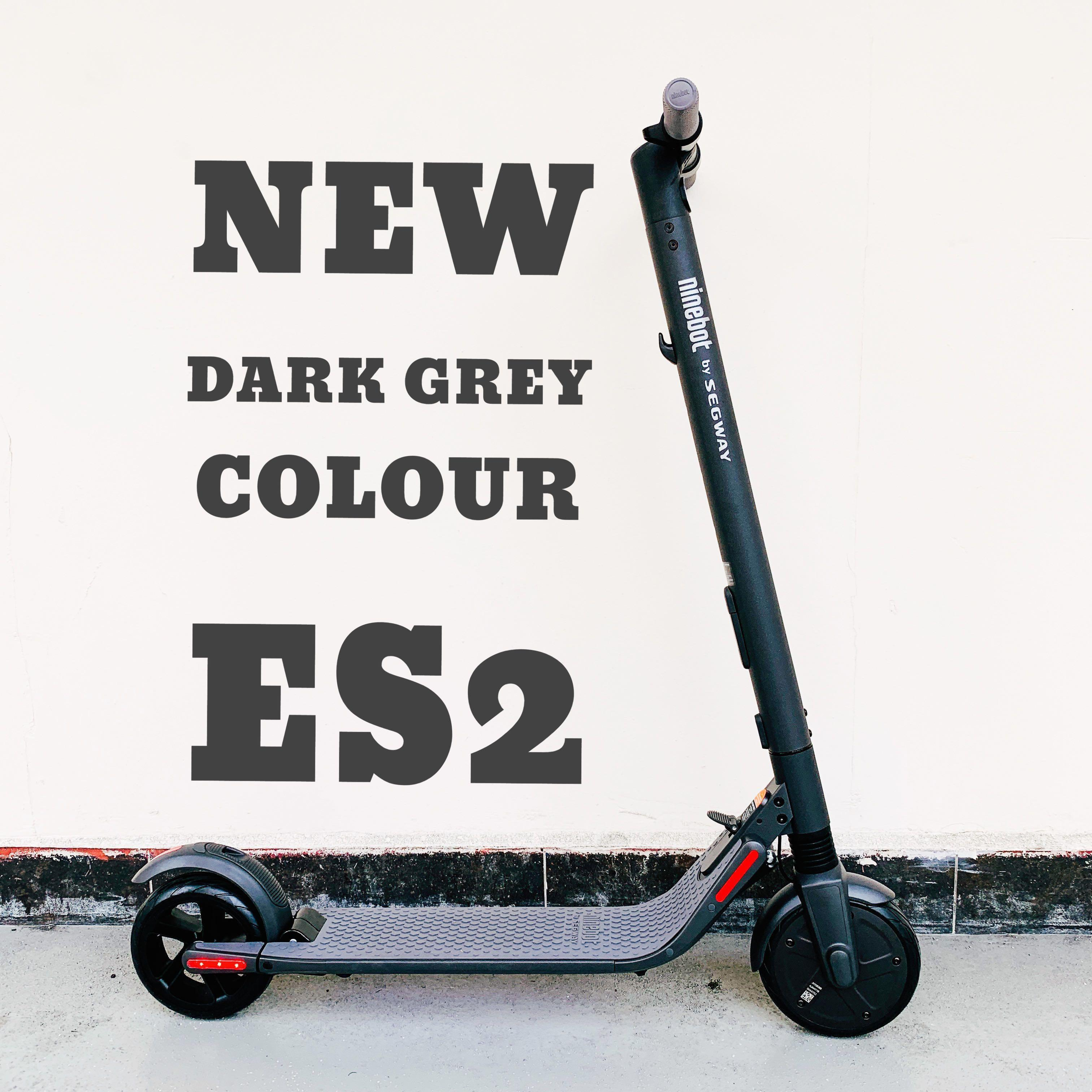 NEW DARK GREY] Segway Ninebot ES2 Escooter, Bicycles & PMDs