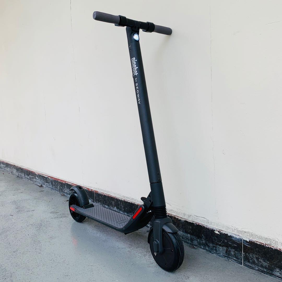NEW DARK GREY] Segway Ninebot ES2 Escooter, Bicycles & PMDs