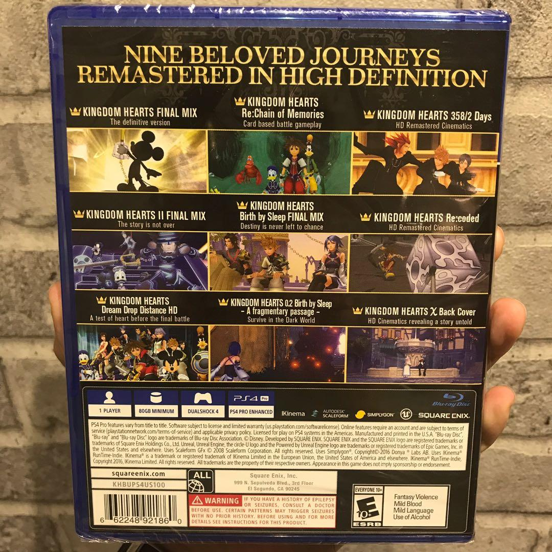 NEW] PS4 Game - Kingdom Hearts: The Story So Far (Region All