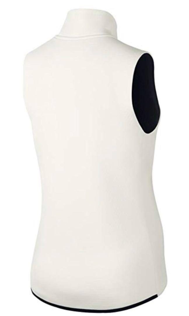 Nike Women's Therma-Sphere Max Training Vest - Ivory/Black