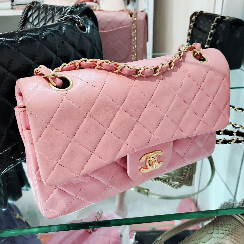 4c0f9a55cb4b Pink Chanel Bag, Women's Fashion, Bags & Wallets, Handbags on Carousell