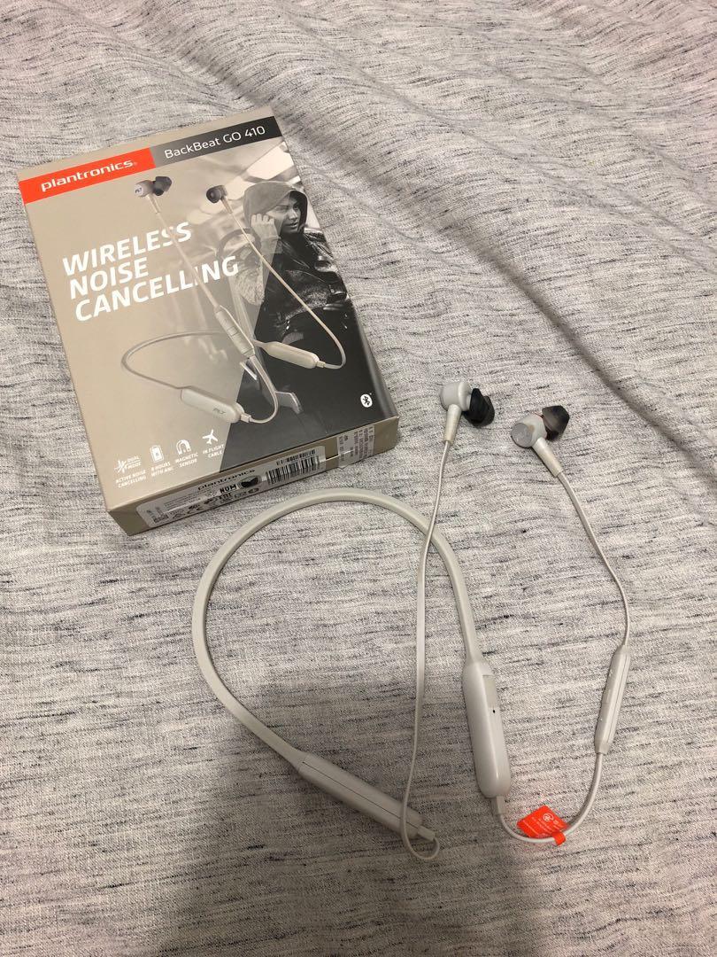 Plantronics backbeat go 410 - wireless noise cancelling earphones