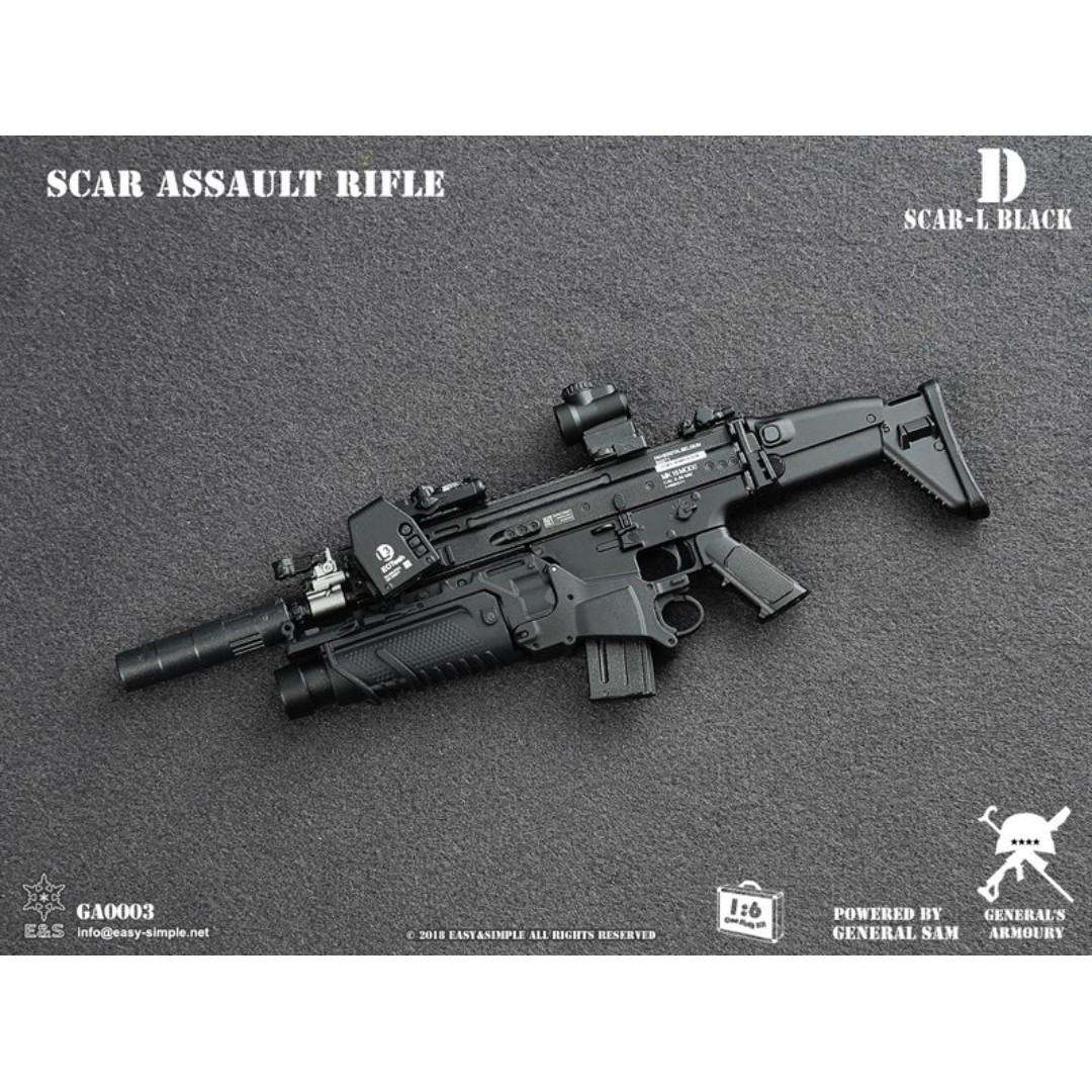 PRE-ORDER : General's Armory GA0003-D - SCAR Assault Rifle