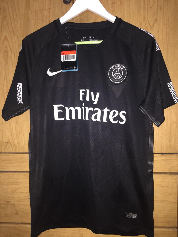 super popular 3a499 e5076 PSG 17/18 Third Kit Neymar Nike Football Jersey, Sports ...
