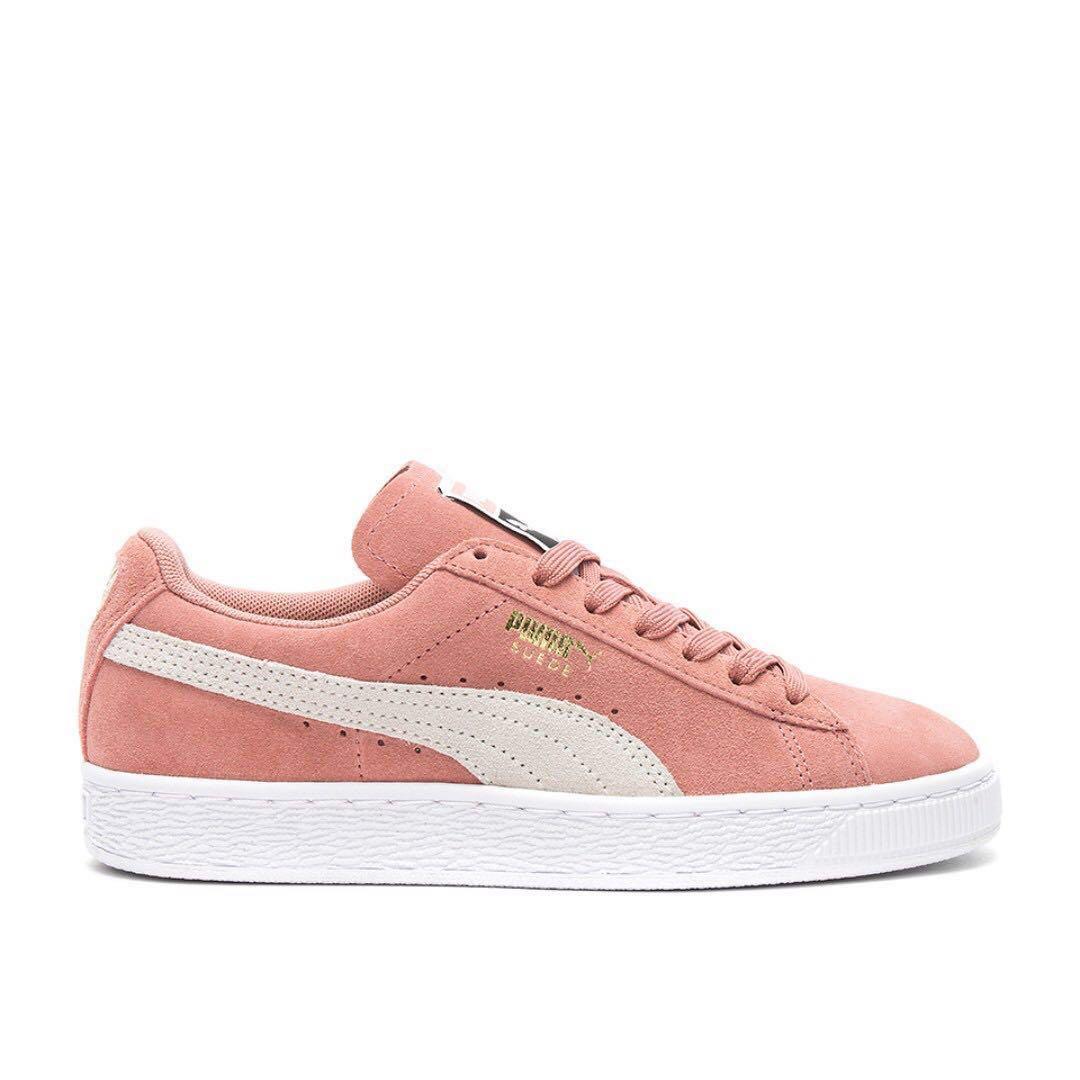 best sneakers 93c2f dc375 Puma Classic Suede Sneaker in Pink