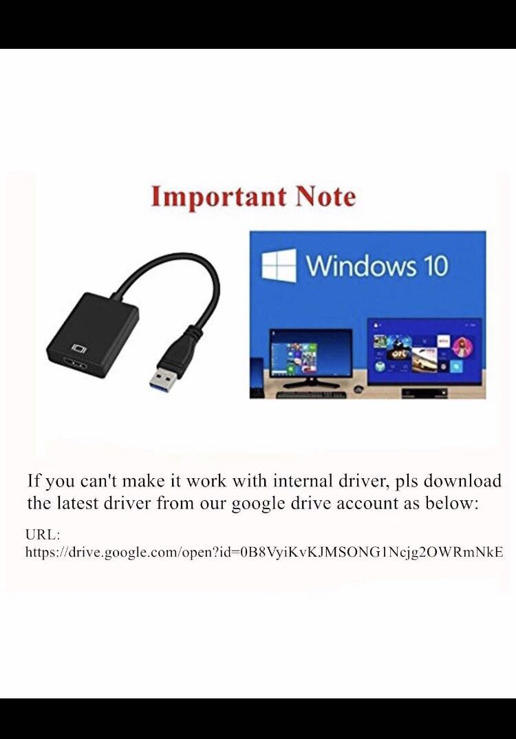 Usb 3.0 to hdmi adapter driver raycue