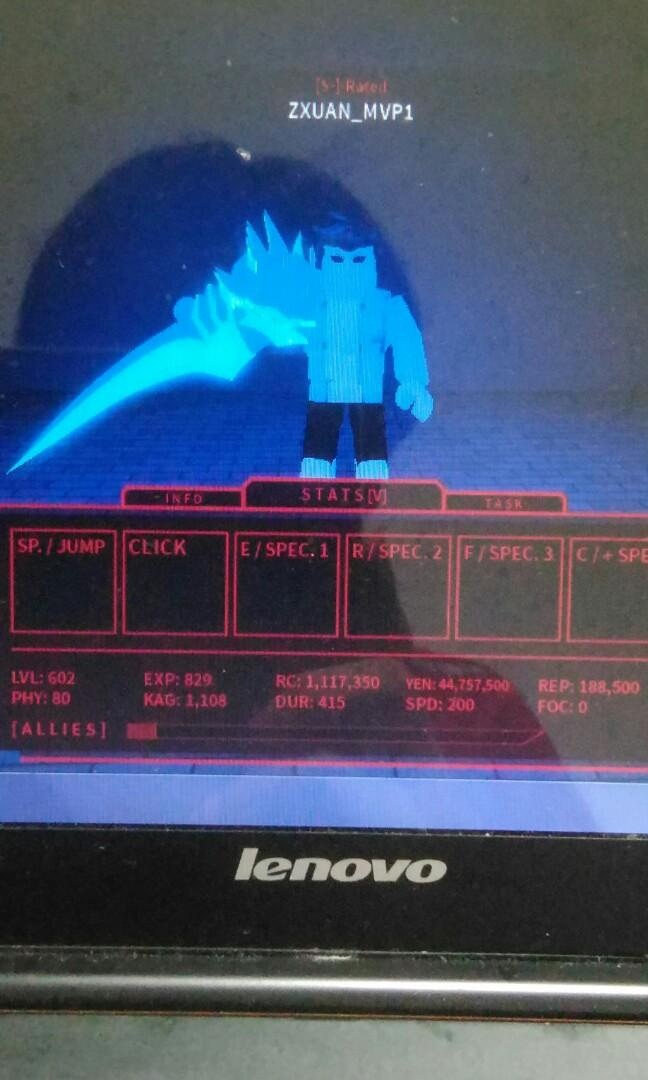 Roblox Ro Ghoul Account, Toys & Games, Video Gaming, Video