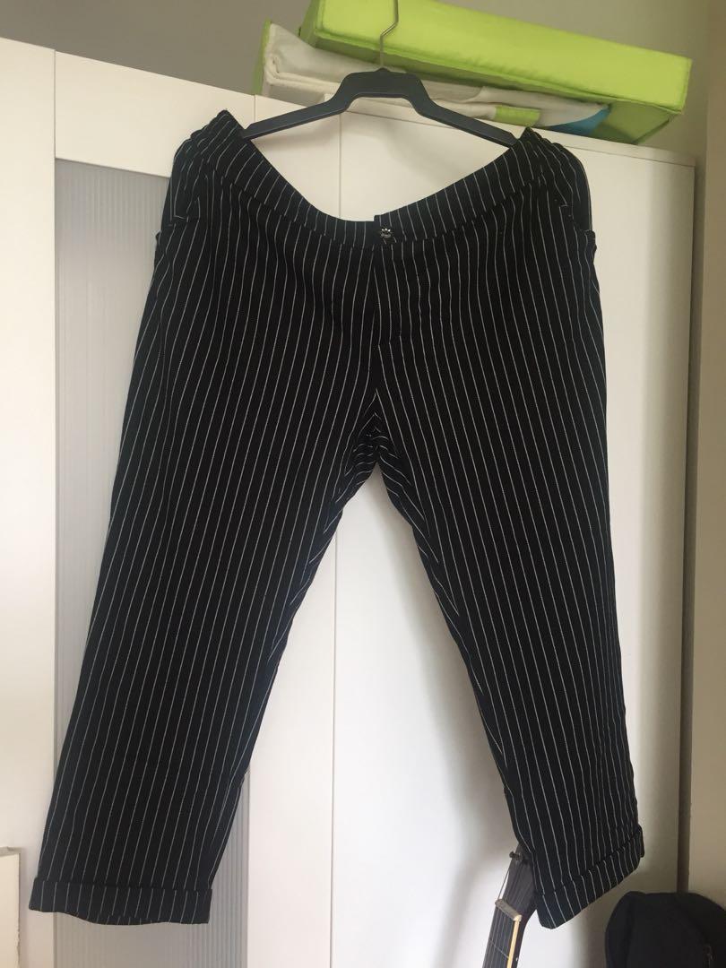 cae7252cee2a7 Striped Slacks Pants, Women's Fashion, Clothes, Pants, Jeans ...