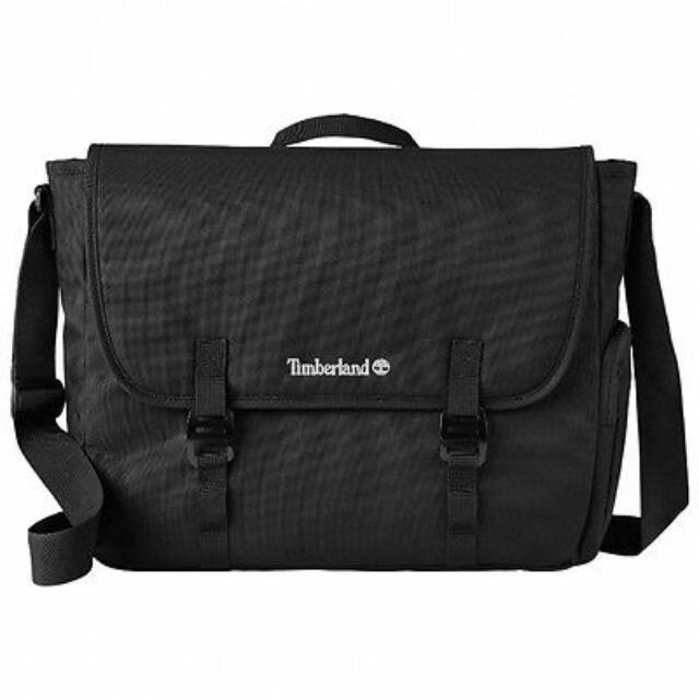 3f5c110ec8 Timberland Black Messenger Sling Bag, Men's Fashion, Bags & Wallets ...