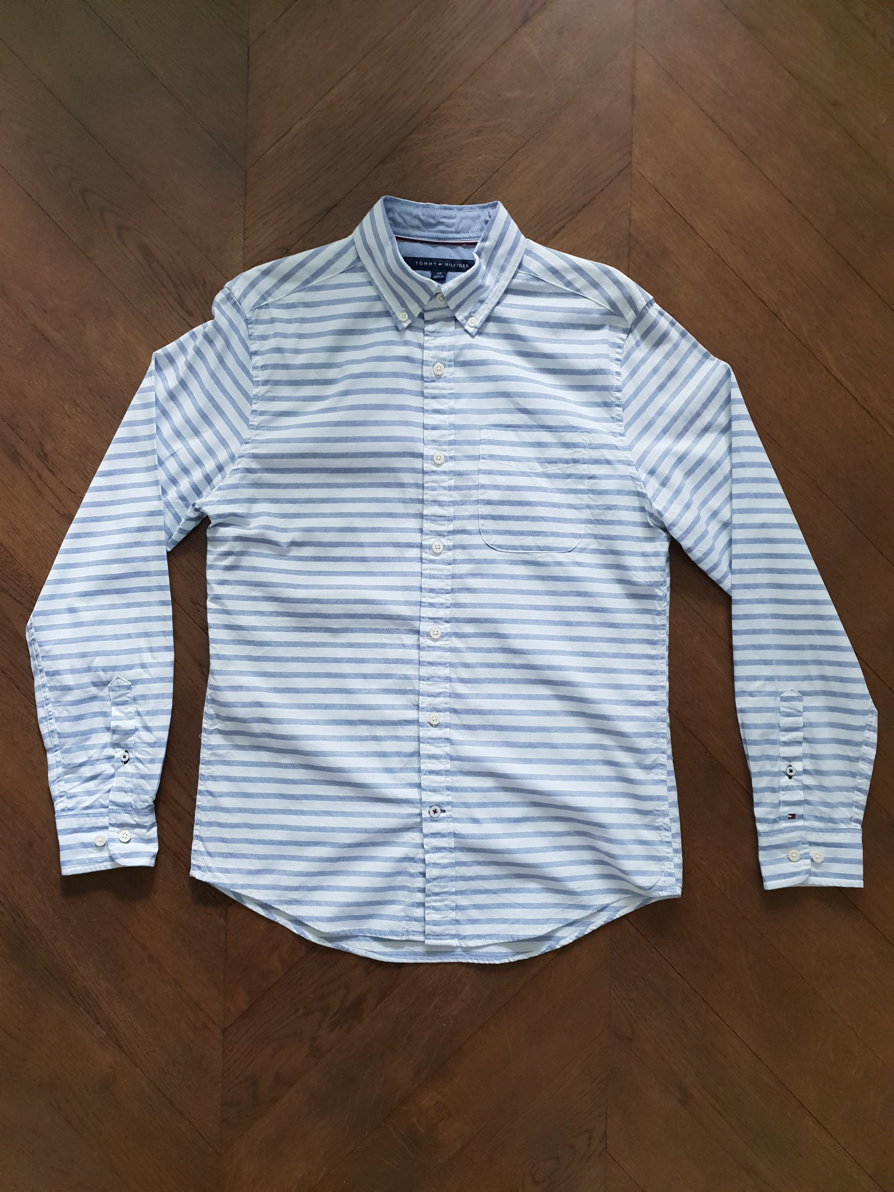 220916f4 Tommy Hilfiger long sleeve shirt, Men's Fashion, Clothes, Tops on ...