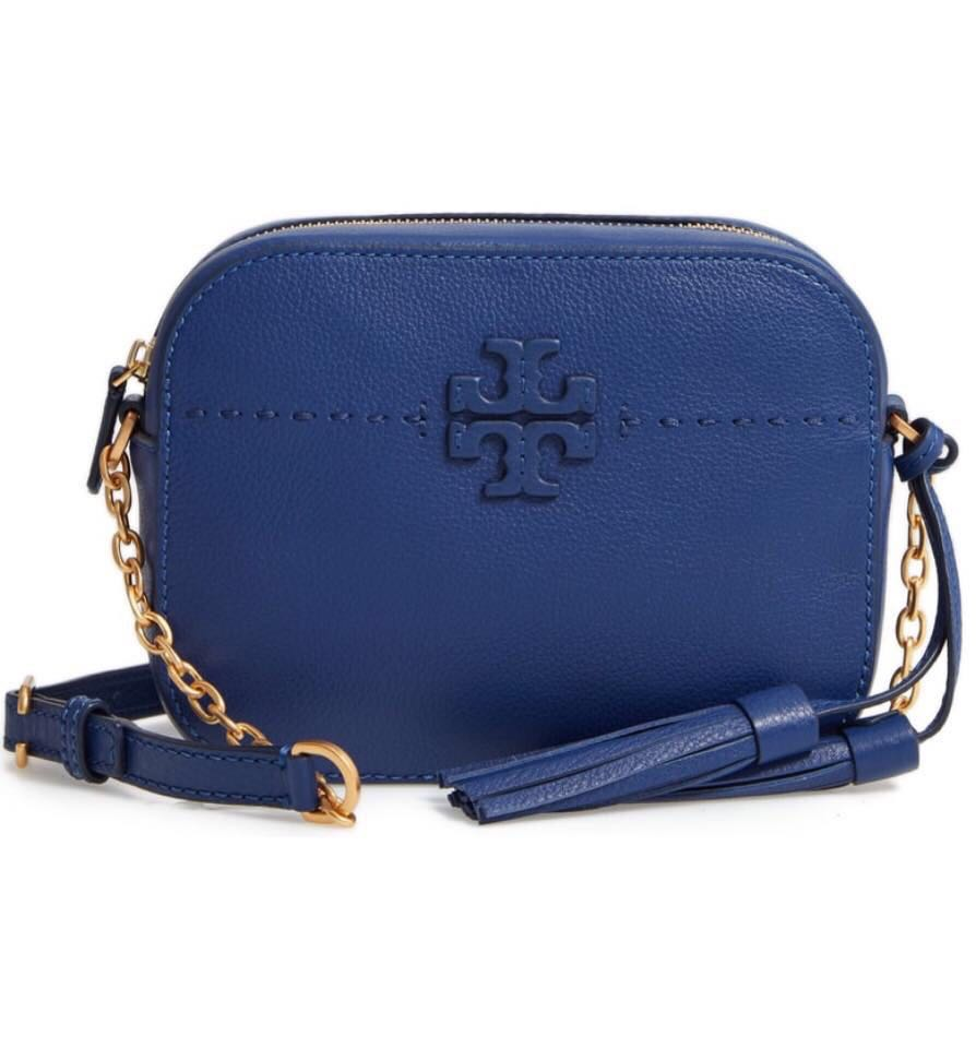 b38d9bedd89f Tory Burch McGraw Camera Bag