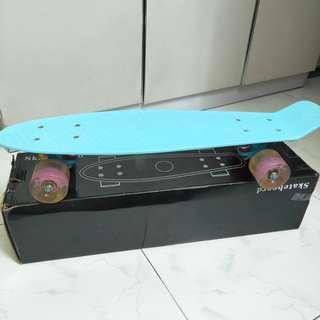 Light Blue Penny Board