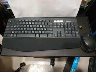 Logitech MK850 Wiressless Performance  (可與3個devices or PC 配對) 極新淨, multidevice wiresless keyboard and mouse)