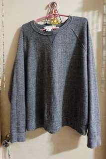 H&M Gray Sweater Medium