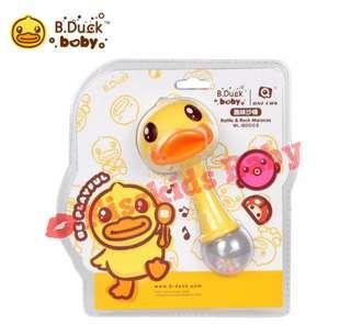 【B.Duck BABY系列】趣味小沙錘  黃色/粉色
