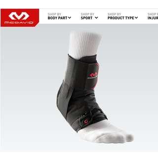 美國 MC DAVID 護腳踭/ 護腳踝 Ankle Brace w/Straps