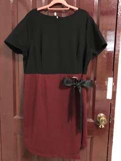BN 5XL HUE Office Dress UK18 UK20