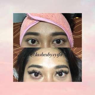 Eyelash Extension Promo All Type Only 125k😍✨